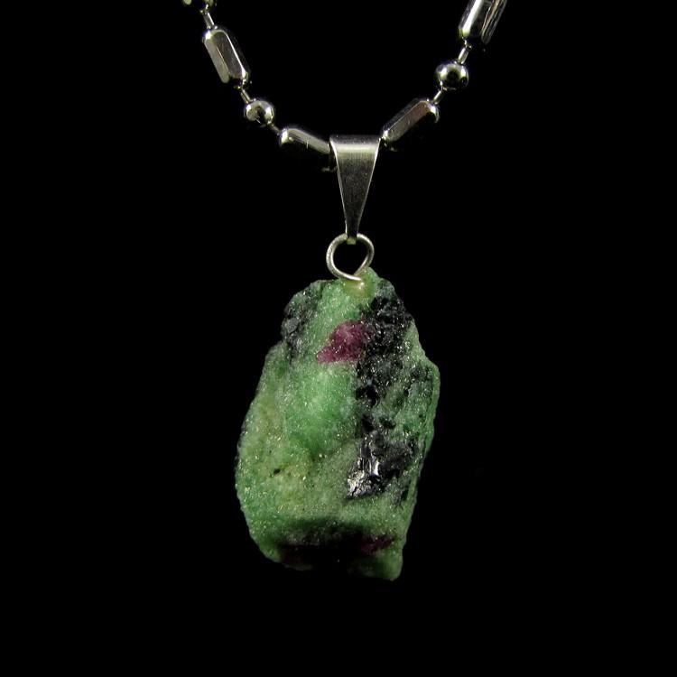 Pingente Pedra Natural Rubi Zoisite - 5129