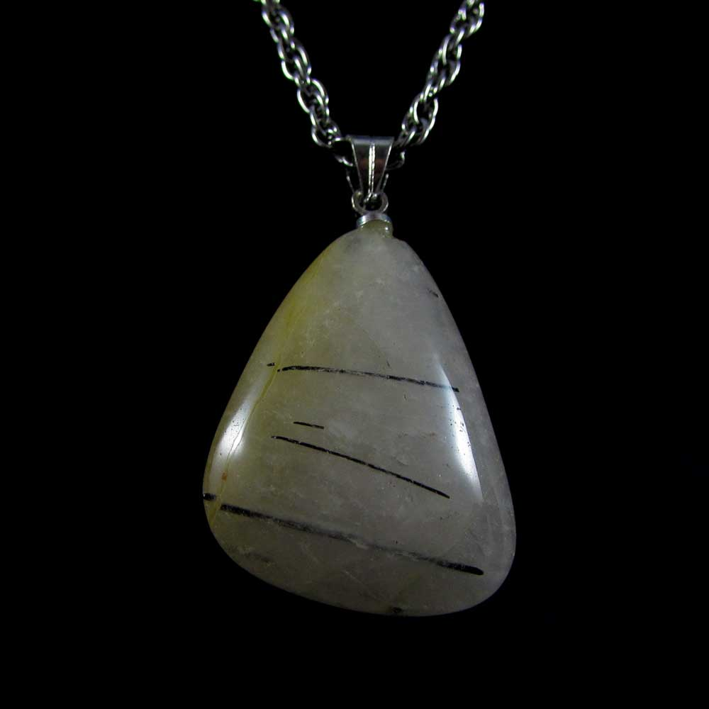 Pingente Pedra Natural Rutilo