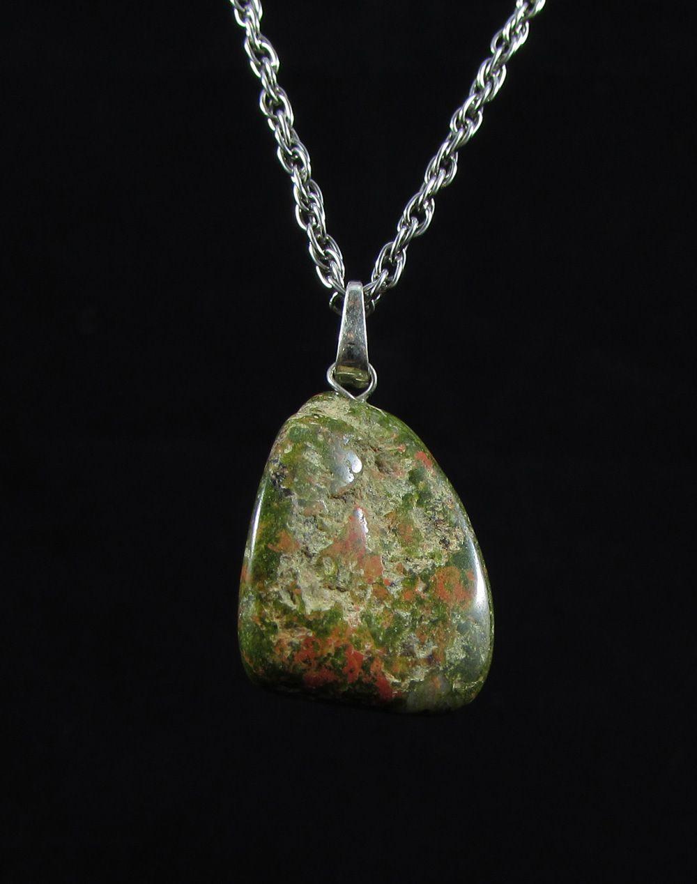 Pingente Pedra Natural Unakita