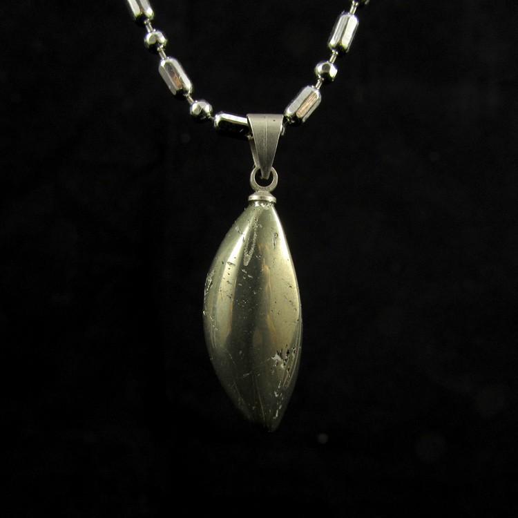 Pingente Pirita Pedra Natural - 5229