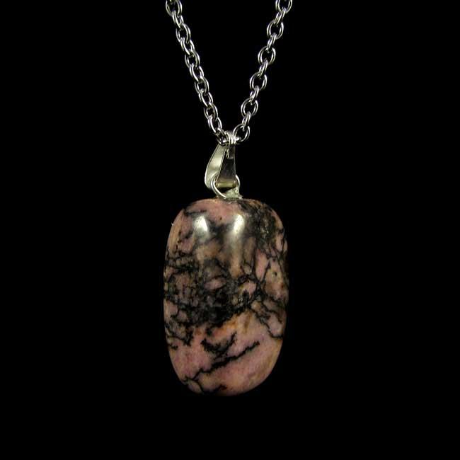 Pingente Rodonita Pedra Natural - 5727