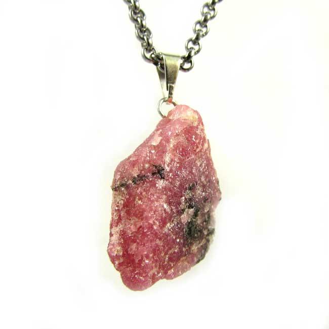 Pingente Rodonita Pedra Natural - 6043