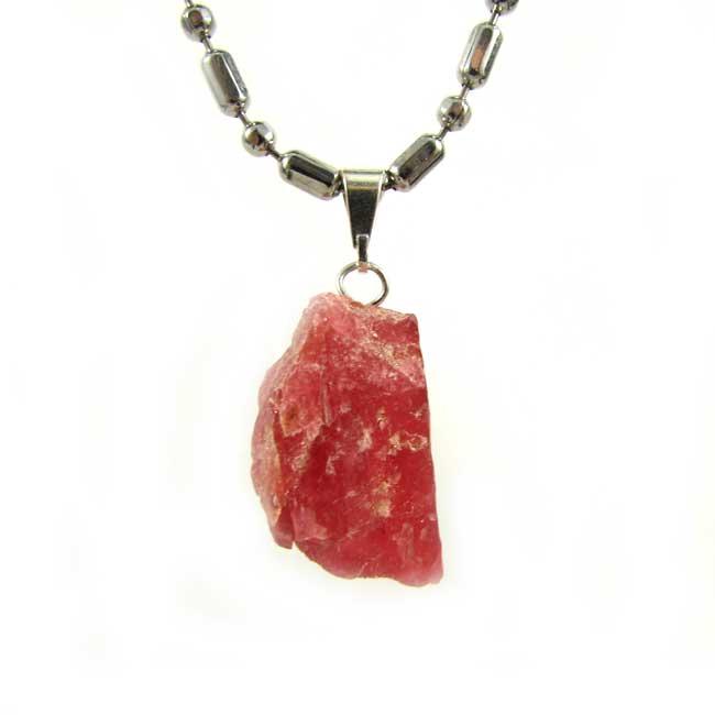 Pingente Rodonita Pedra Natural - 6047