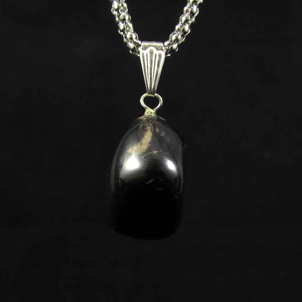 Pingente Turmalina Negra Pedra Natural 2683