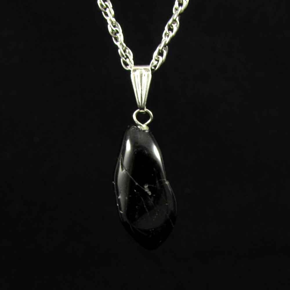Pingente Turmalina Negra Pedra Natural - 3519