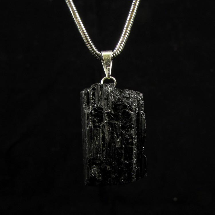 Pingente Turmalina Negra Pedra Natural - 5305