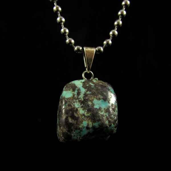Pingente Turquesa Pedra Natural - 6669