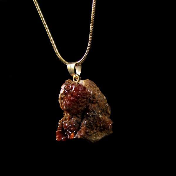 Pingente Vanadinita Pedra Natural Bruta - 7085