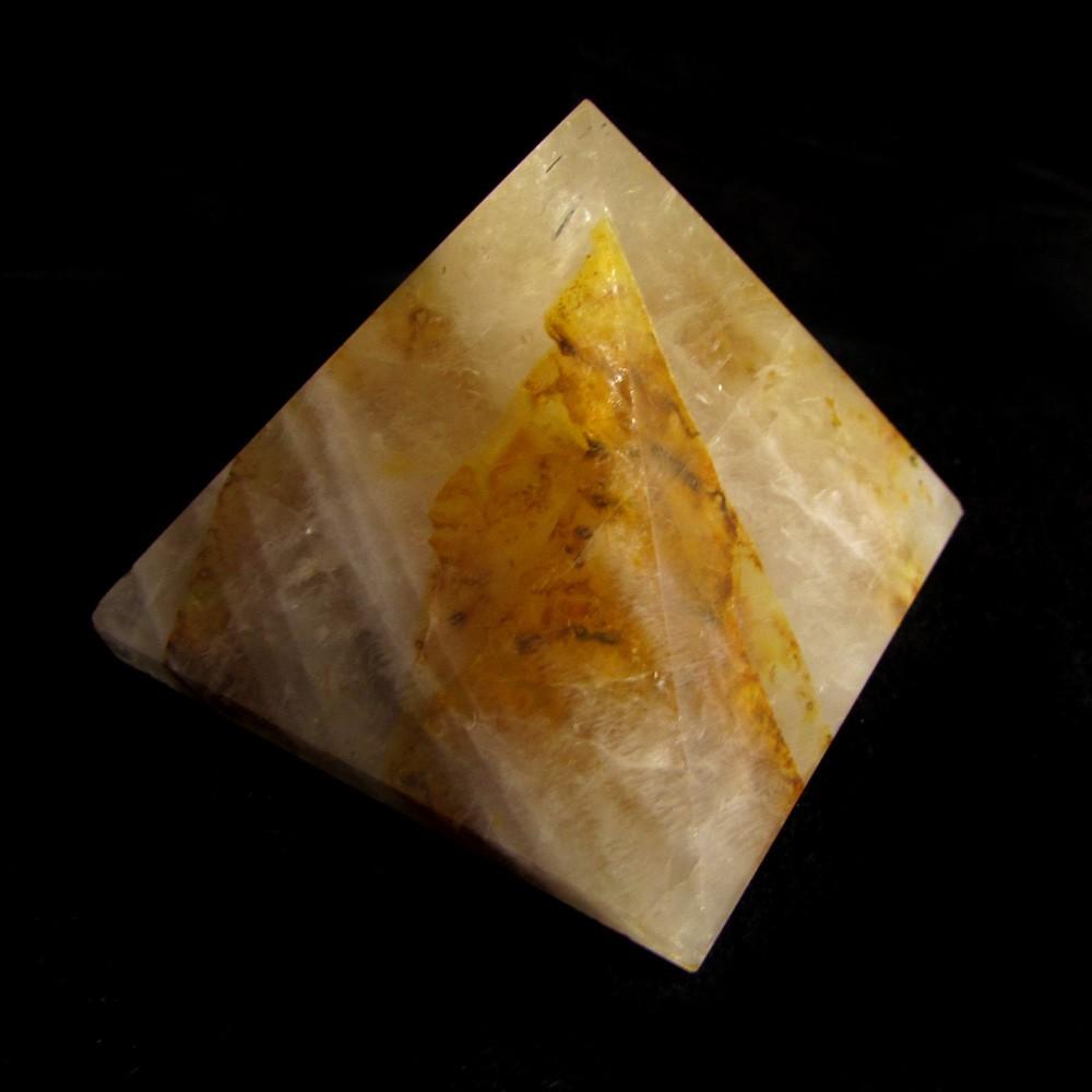 Pirâmide de Ágata Pedra Natural - 5011