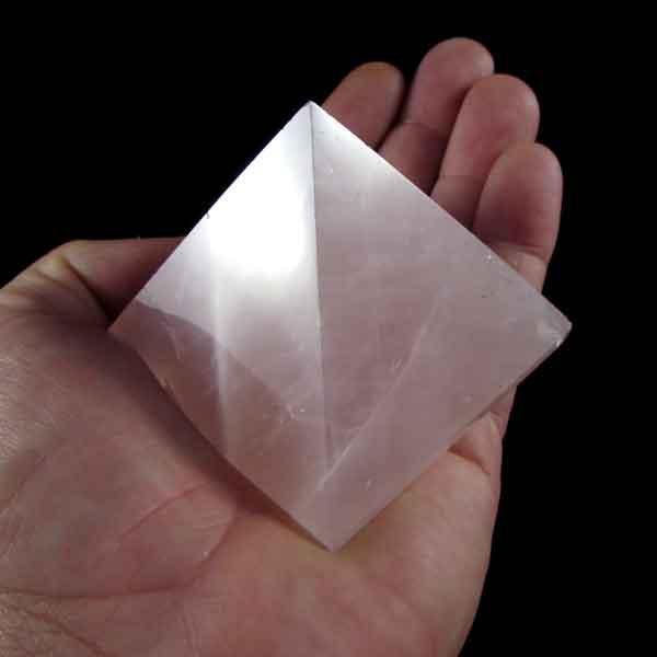 Pirâmide de Quartzo Rosa - 6357