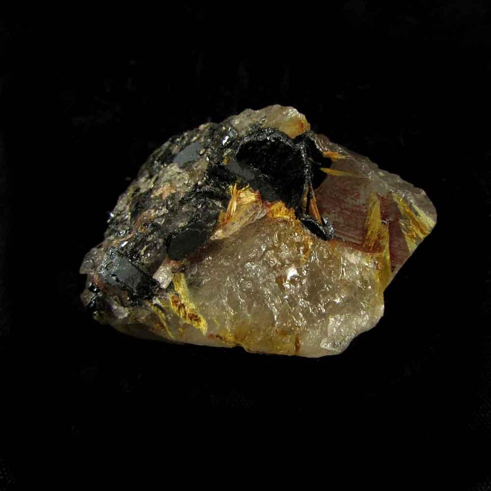 Quartzo com Rutilo Pedra Natural