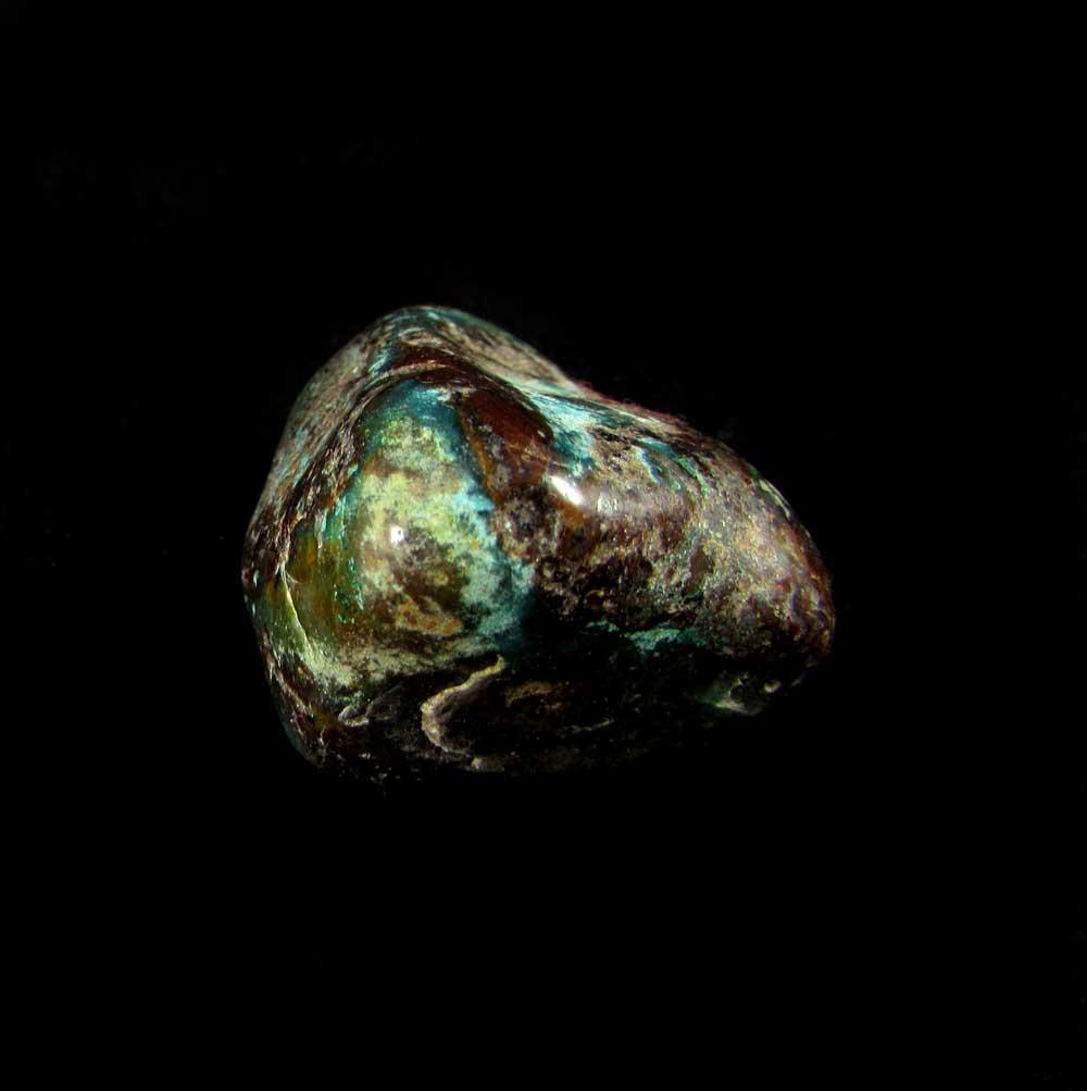 Shattuckita Pedra Natural Rolada - 2053