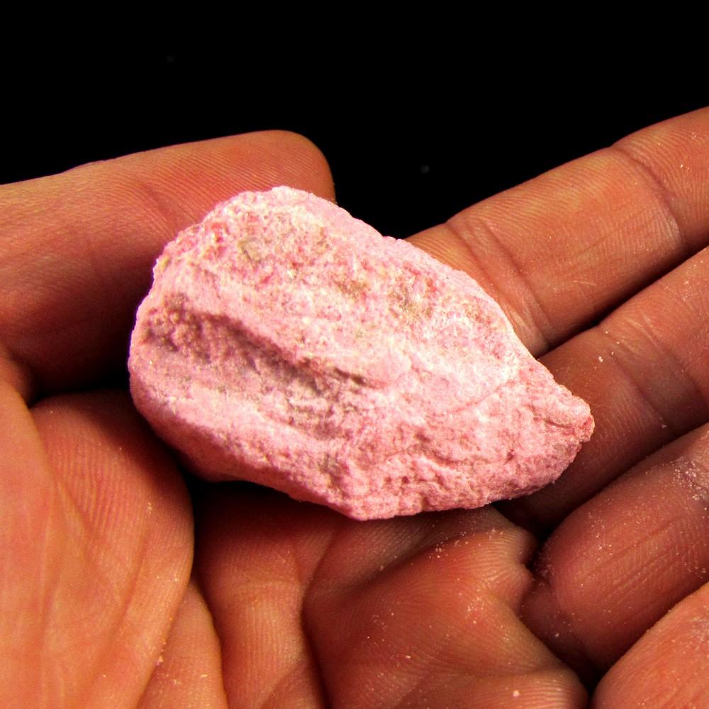 Tulita Cor de Rosa Pedra Natural Bruta - 5061