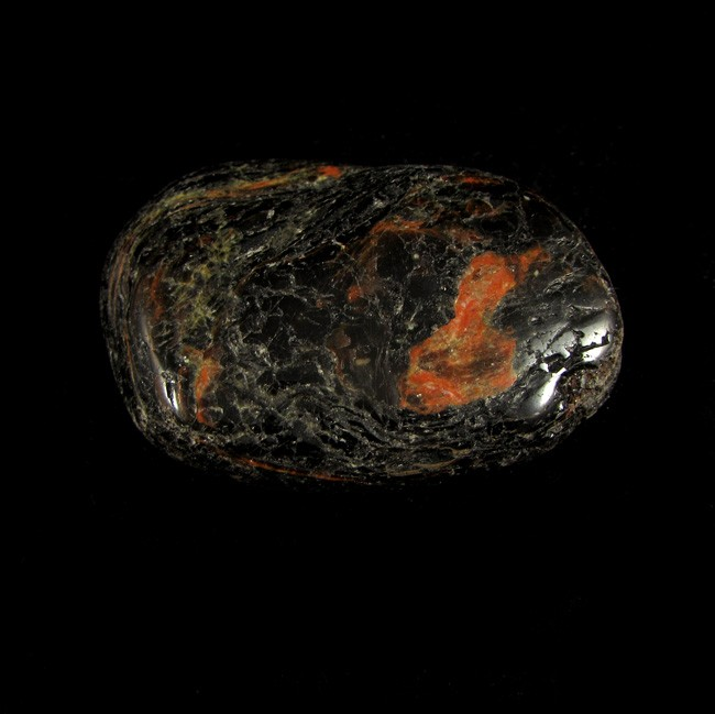 Turmalina Negra Pedra Natural Rolada -5675
