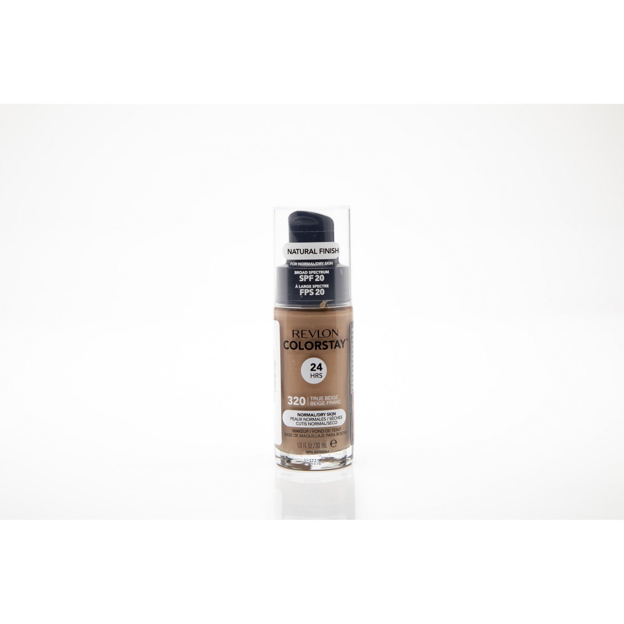 Base liquida colorstay para peles secas trui beige revlon 320