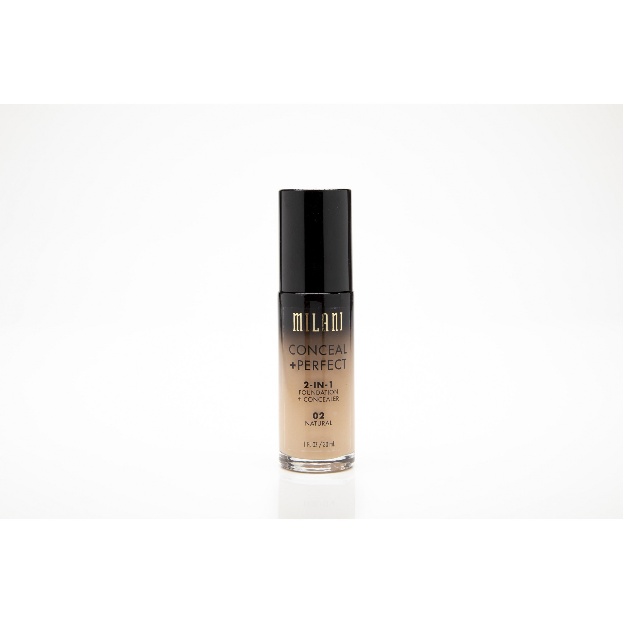 Base milani conceal + perfect 2-in-1 02 natural