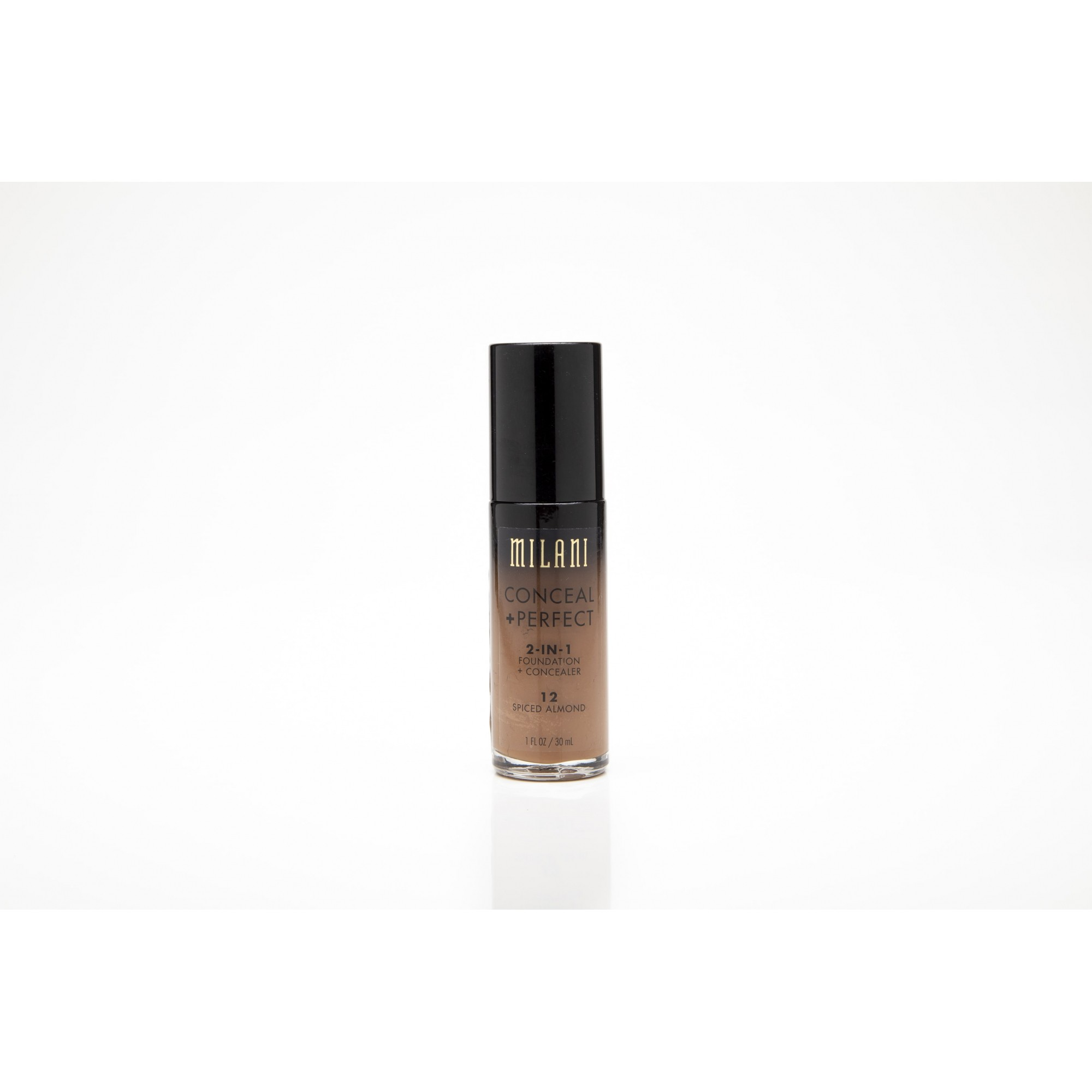 Base milani conceal + perfect 2-in-1 12 spiced almond