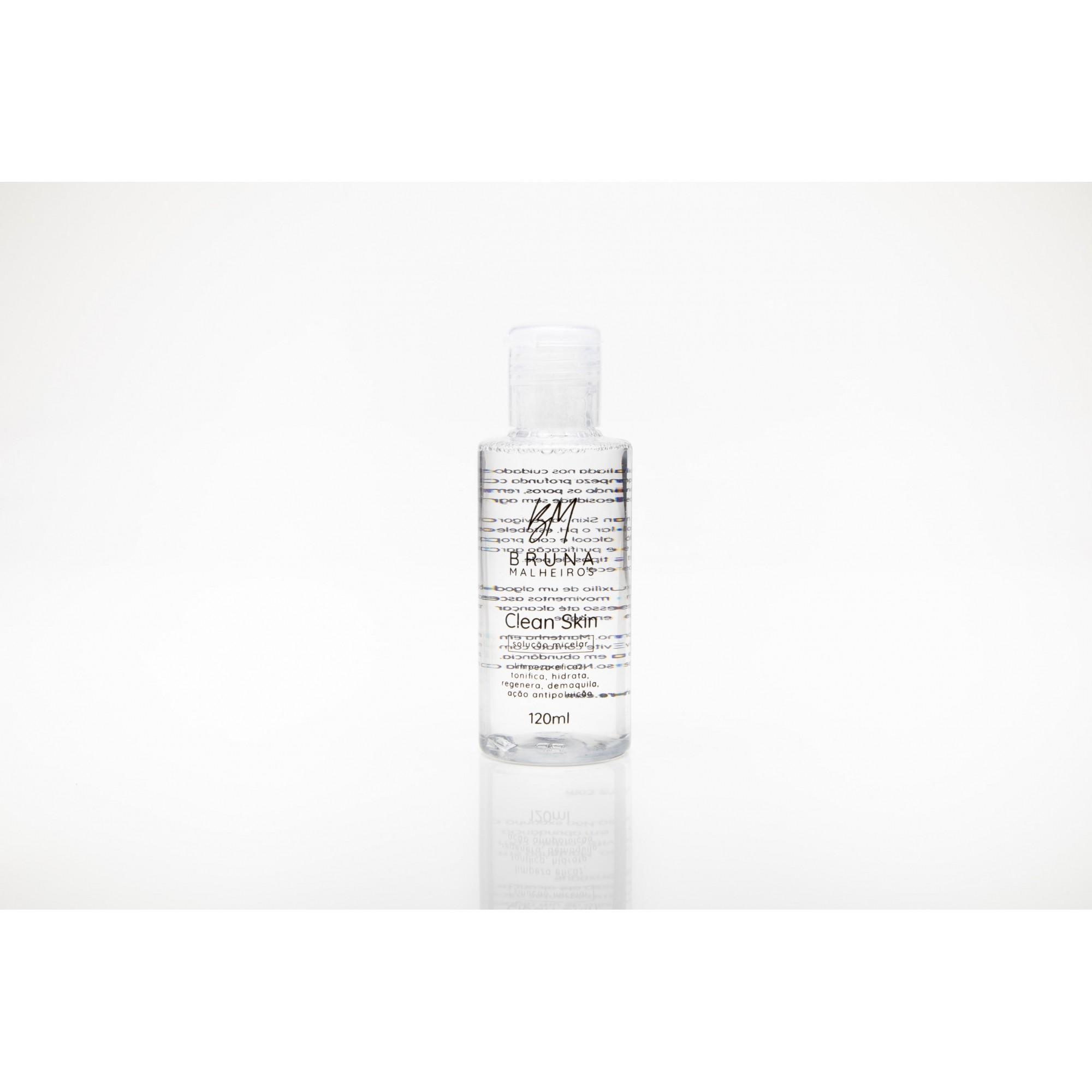 Clean skin - soluçao micelar - bruna malheiros