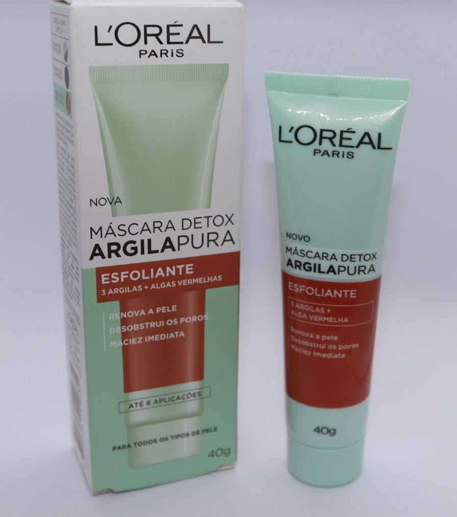 Masc detox lr argila esfoliante