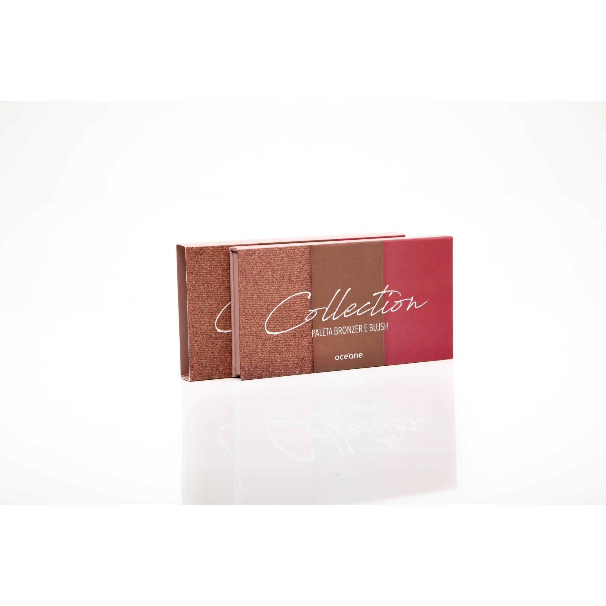 Paleta bronzer e blush collection