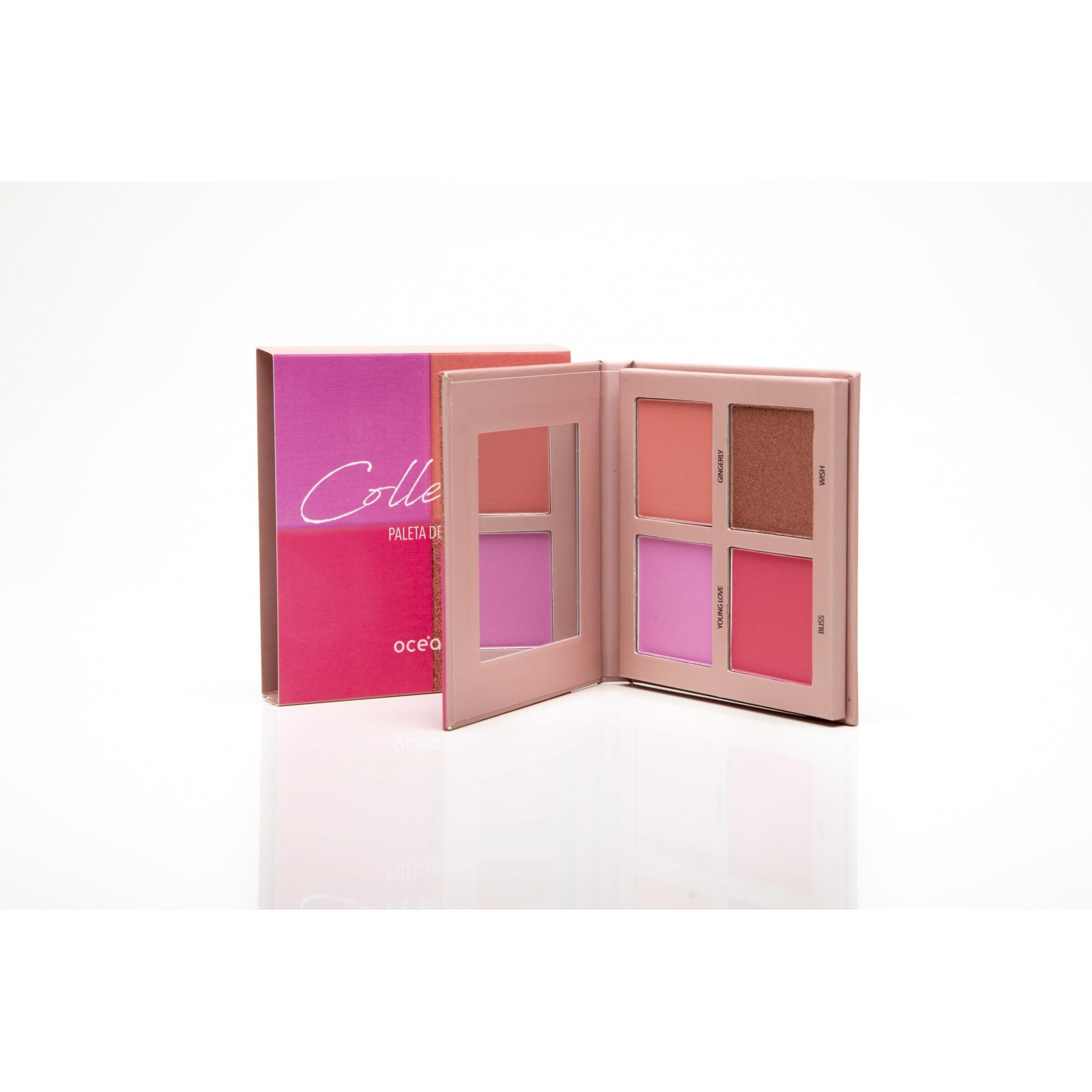 Paleta de blush collection