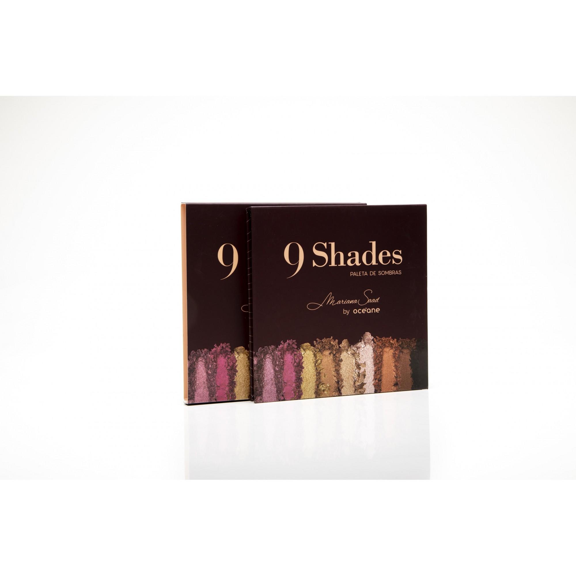 Paleta de sombras mariana saad - 9 shades