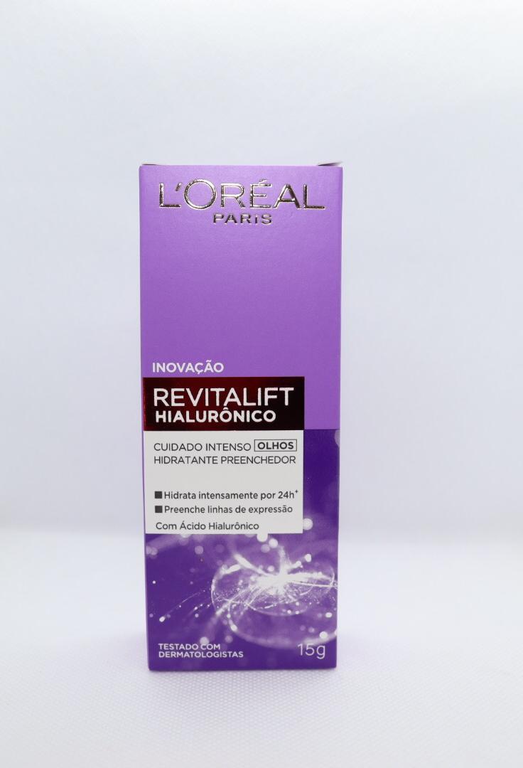 Revitalift hialuronico Loreal para olhos