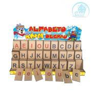 Alfabeto Móvel Degrau Forma