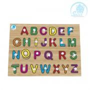 Quebra-Cabeça Alfabetização com Pinos