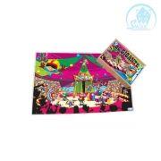 Quebra-Cabeça Gigante - Circo - 96 peças