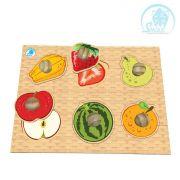 Quebra-Cabeças Pinão Frutas