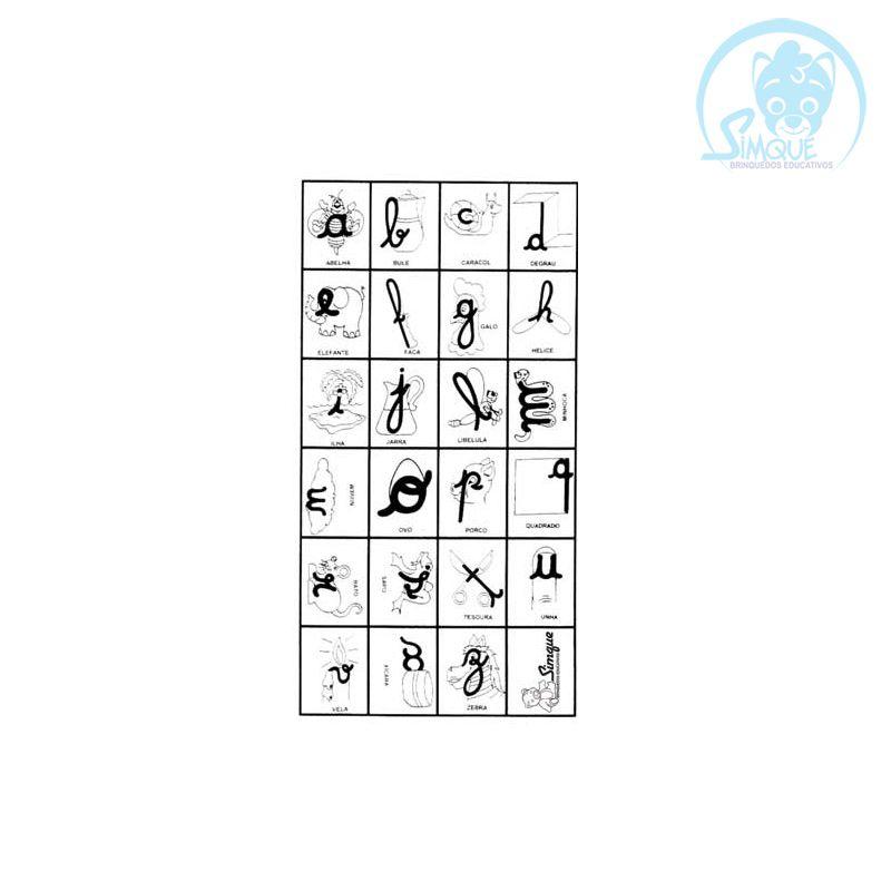 Carimbo Letras e Formas