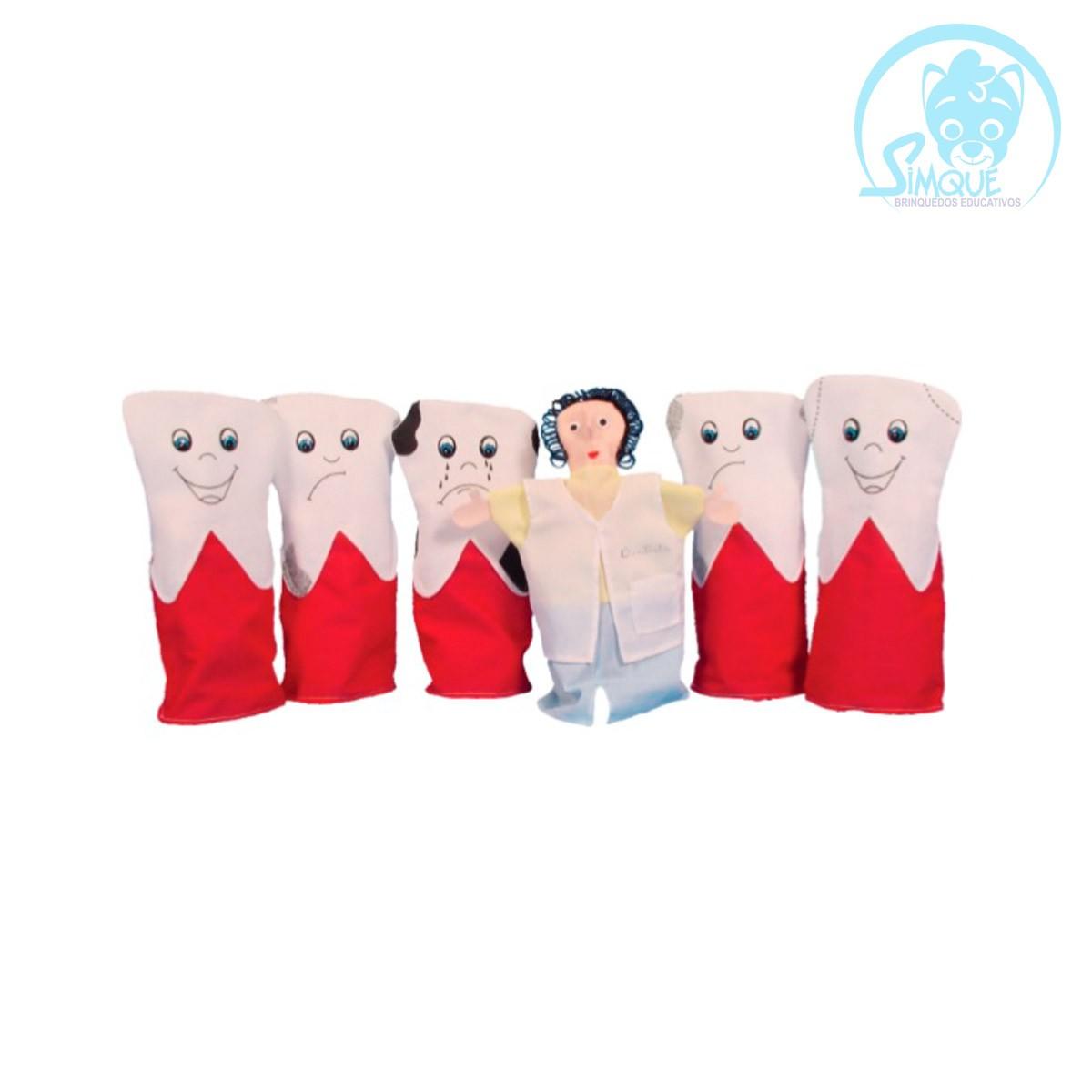Fantoches Família Dentária