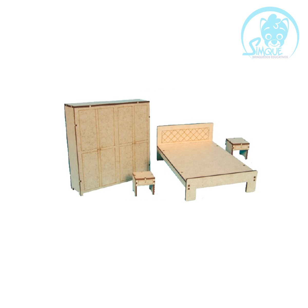 Mini Mobília Quarto