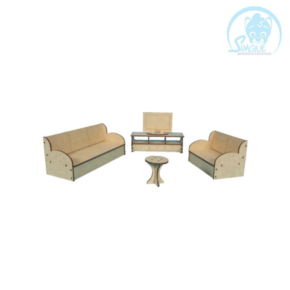 Mini Mobília - Sala de TV