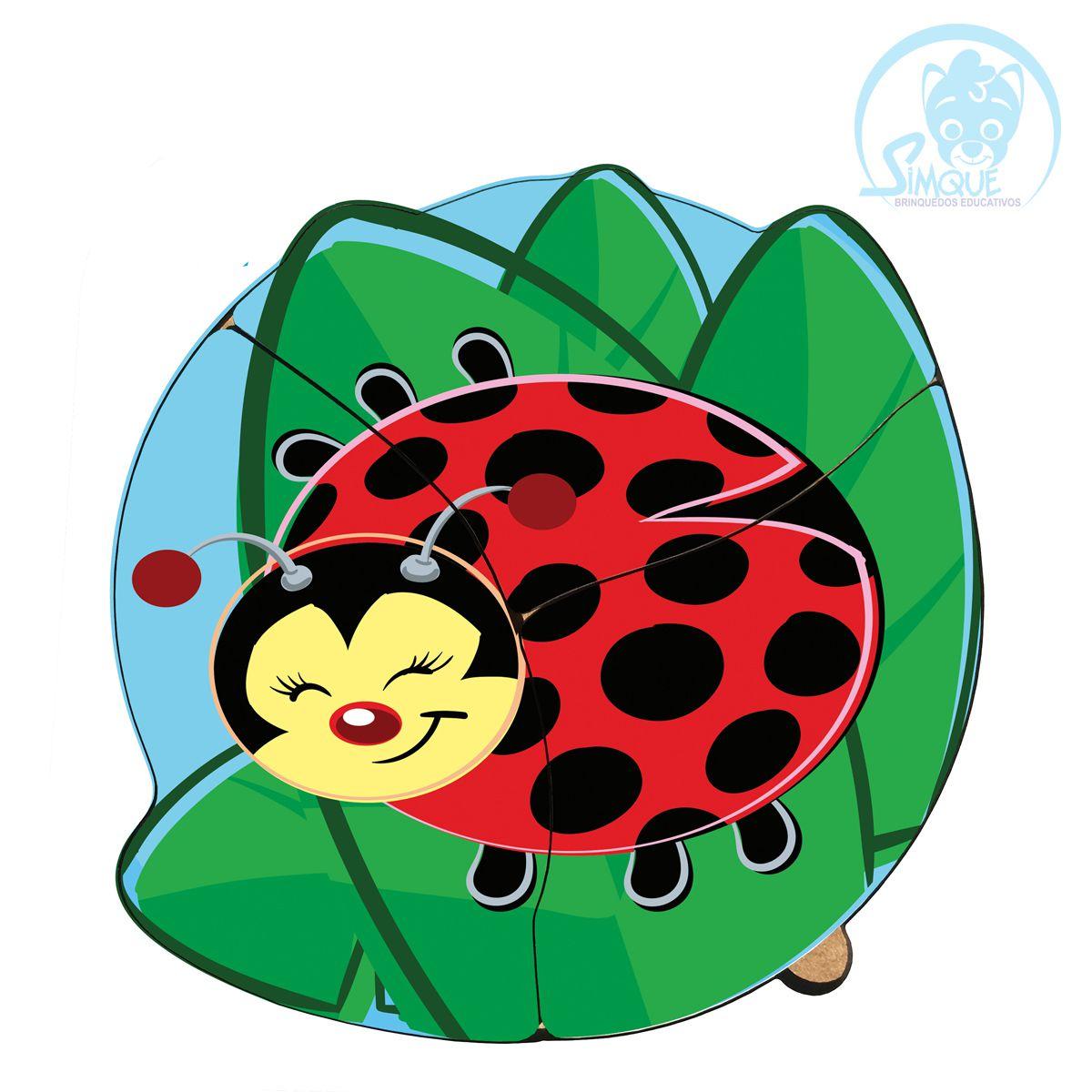 Quebra-Cabeça baby - joaninha