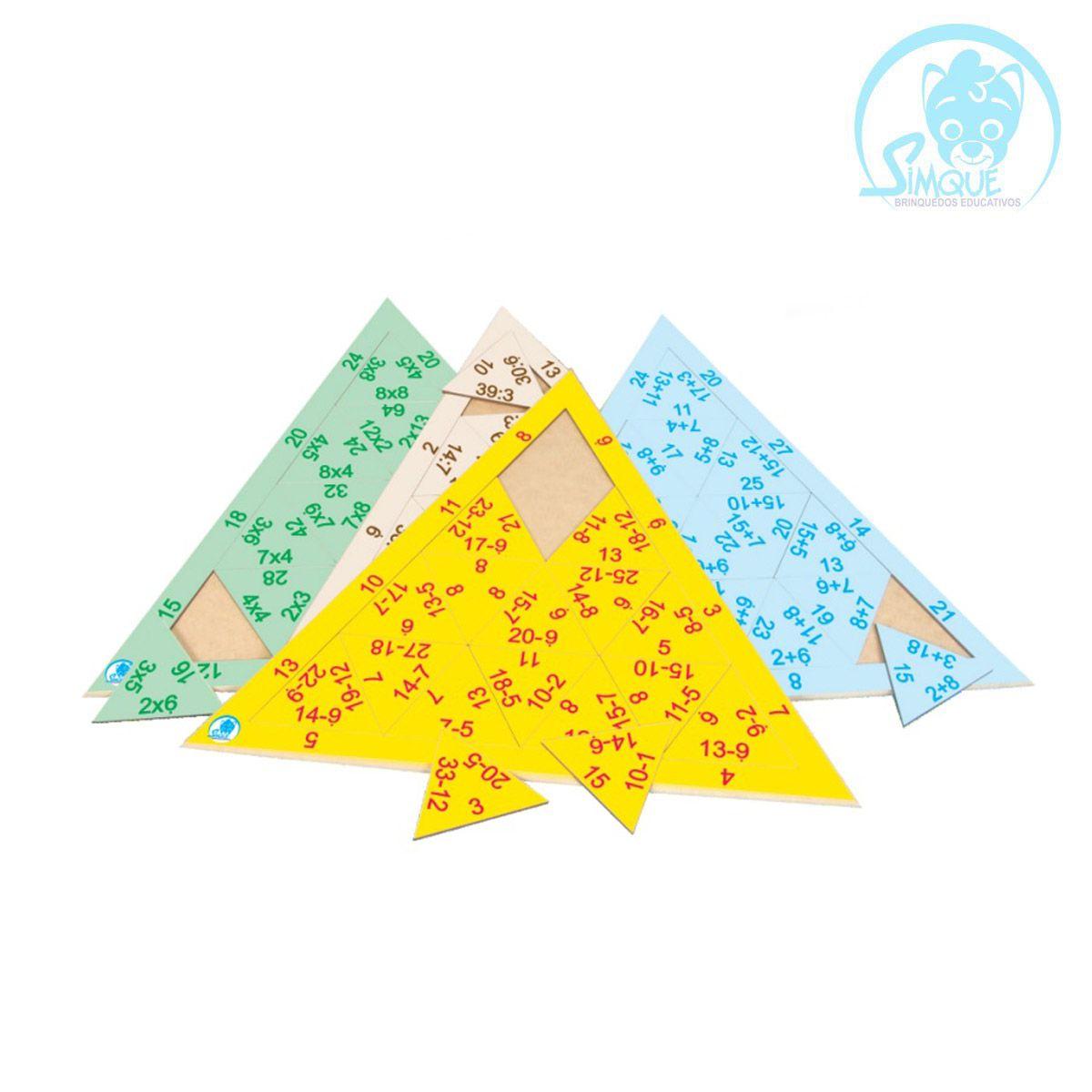 Quebra Cabeça Triangular - Multiplicação