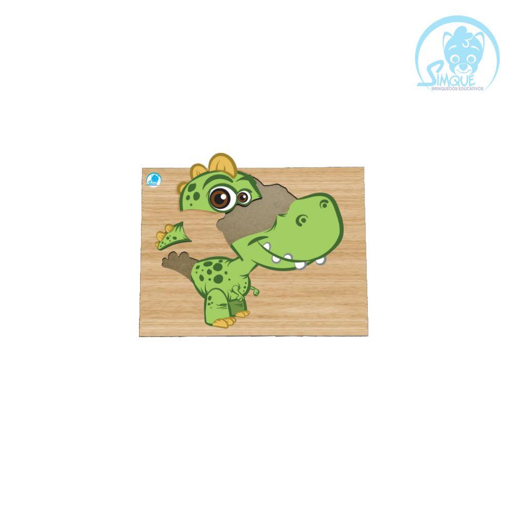 Super Quebra-Cabeça Dinossauro