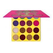 Masquerade - Juvia's Place. Paleta com 16 cores de sombra