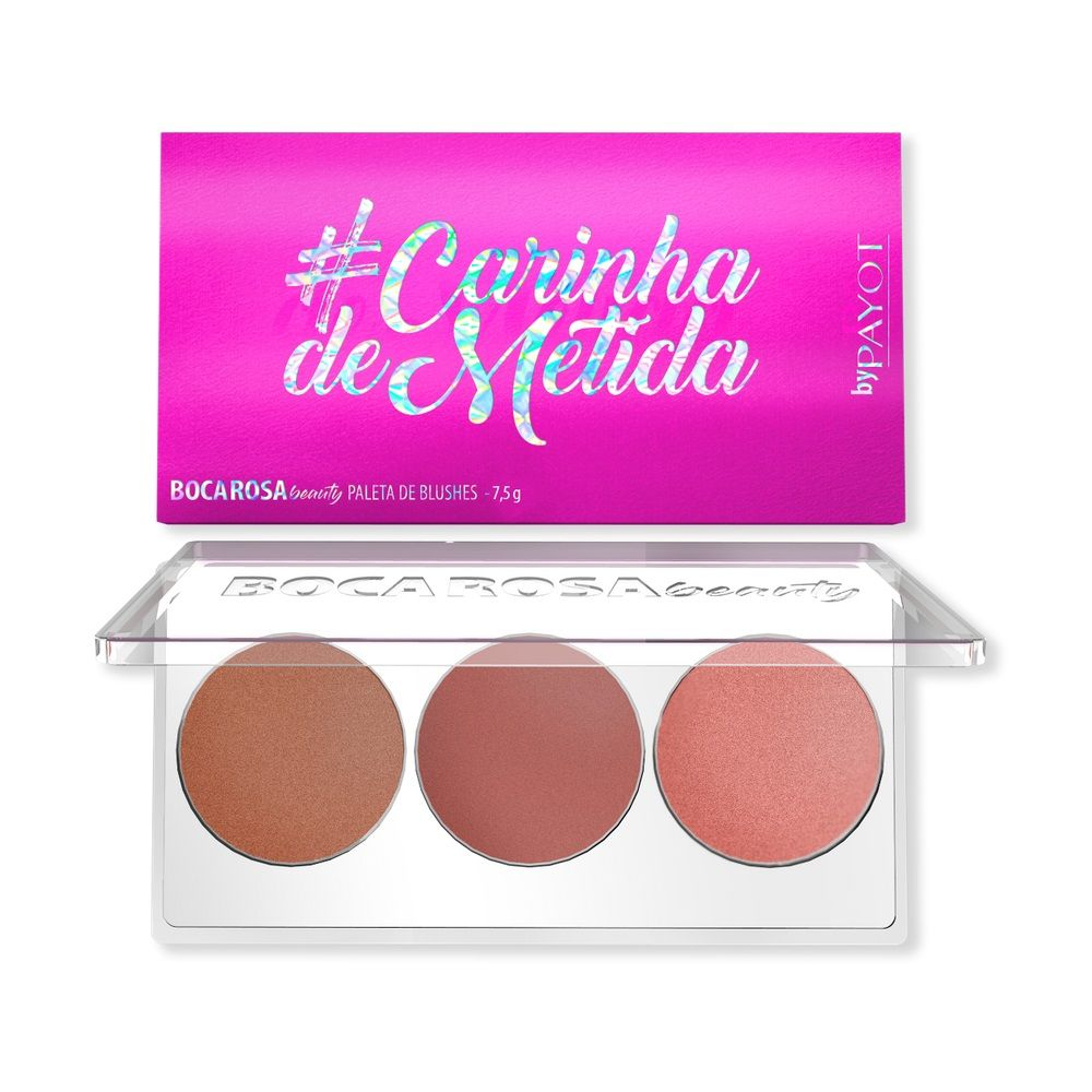 Boca Rosa paleta de blush