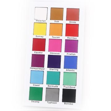 Paleta Certifeye 18 cores de sombra - The Tropical