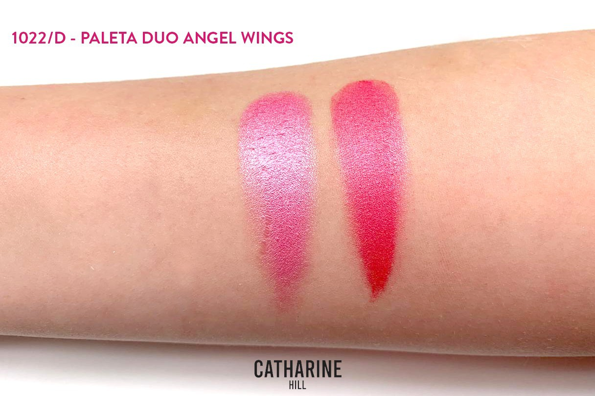 Paleta Duo Angel Wings - Blush Catharine Hill e Pri Lessa