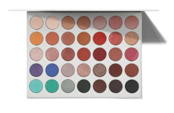 Paleta Jaclyn Hill - 35 cores de sombras Morphe