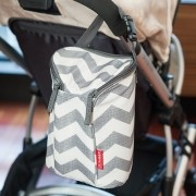 Bolsa Térmica para Mamadeira  Double Bottle Bag  (On The Go) Chevron - Skip Hop