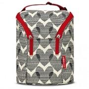 Bolsa Térmica para Mamadeira  Double Bottle Bag  (On The Go) Hearts - Skip Hop