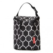 Bolsa Térmica para Mamadeira Double Bottle Bag (On The Go) Onyx Tile - Skip Hop