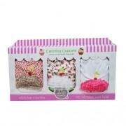 Calcinhas Cupcake 6-12 meses