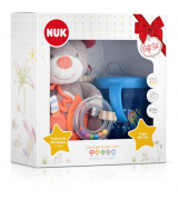 Kit Pelúcia Teddy e Copo My First - NUK