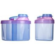 Kit Potes Dosadores Azul/Rosa - Munchkin