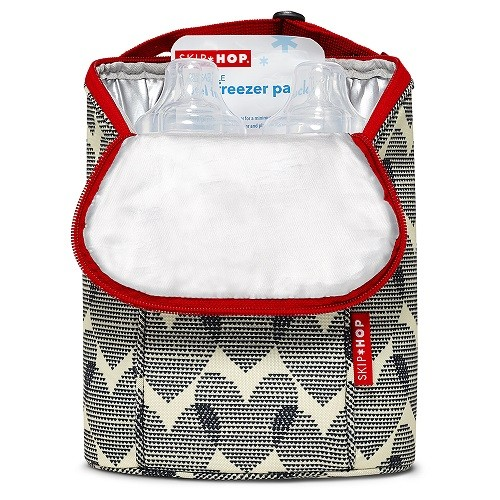 Bolsa Térmica para Mamadeira  Double Bottle Bag  (On The Go) Hearts - Skip Hop